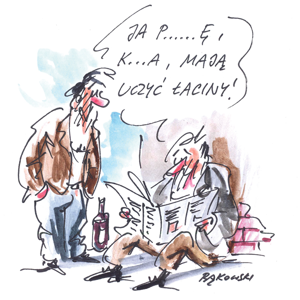 Rysunek G. Bąkowskiego z nr 32/2020