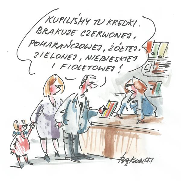 Rysunek G. Bąkowskiego z nr 34/2020