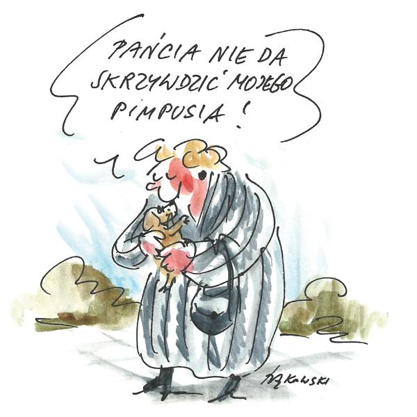 Rysunek G. Bąkowskiego z nr 39/2020