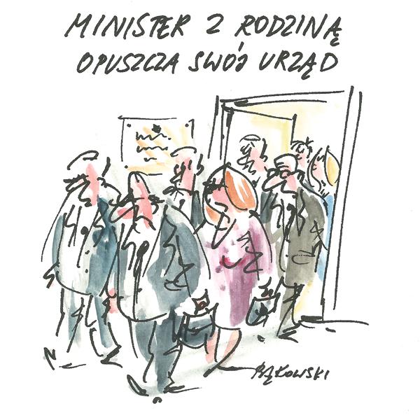 Rysunek G. Bąkowskiego z nr 40/2020