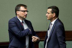 Ziobro krytykuje Morawieckiego poszczycie Rady Europejskiej