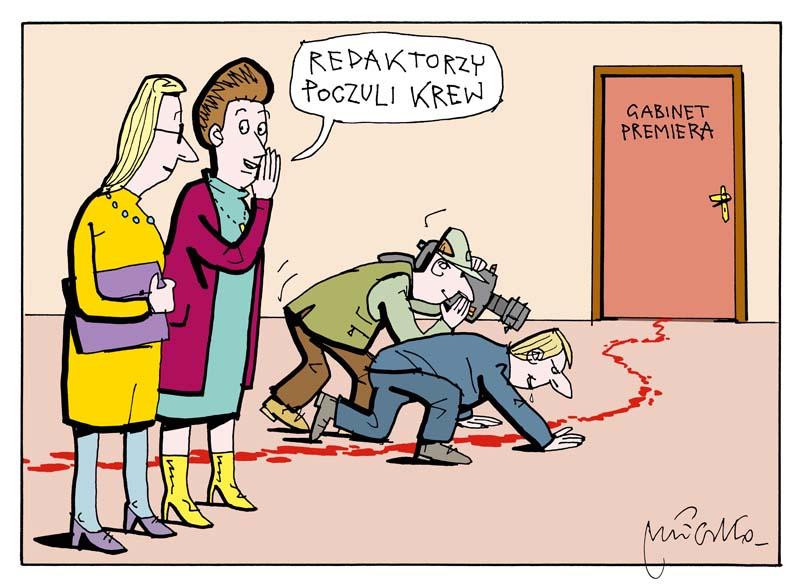 Rysunek A. Mleczki z PRZEGLĄDU nr 43/2020