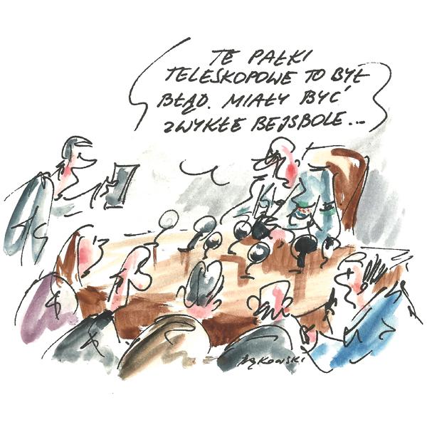 Rysunek G. Bąkowskiego z nr 49/2020