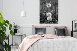 Obraz zdmuchawcem – pełna lekkości dekoracja wnętrza