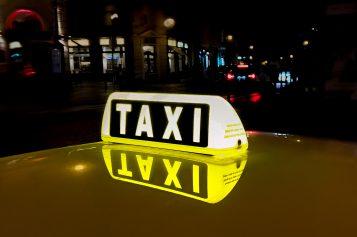 Protest taksówkarzy wWarszawie