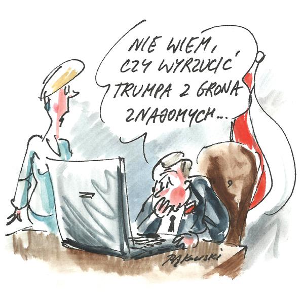 Rysunek G. Bąkowskiego z nr 4/2021