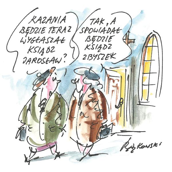 Rysunek G. Bąkowskiego z nr 5/2021