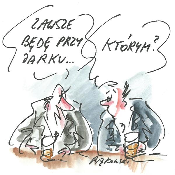 Rysunek G. Bąkowskiego z nr 9/2021