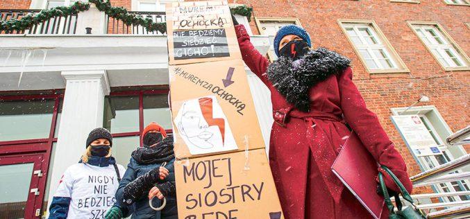 Uczestnikom Strajku Kobiet grozi więzienie