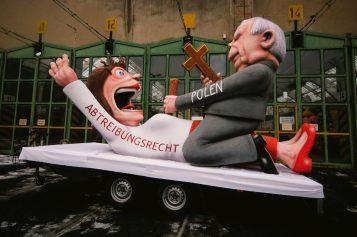Niemiecki artysta wyśmiał wyrok TK ws. aborcji