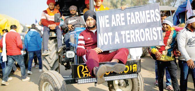 Bunt rolników wIndiach