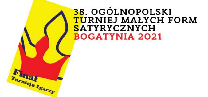 38. Ogólnopolski Turniej Małych Form Satyrycznych Bogatynia 2021