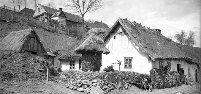 Polska wieś przedwojną