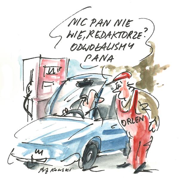 Rysunek G. Bąkowskiego z nr 20/2021