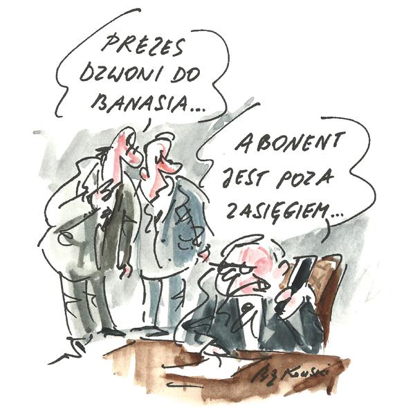 Rysunek G. Bąkowskiego z nr 23/2021