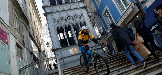 Jak rower, tozPortugalii