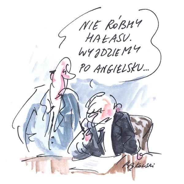 Rysunek G. Bąkowskiego z nr 40/2021