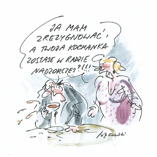 Rysunek G. Bąkowskiego z nr 42/2021
