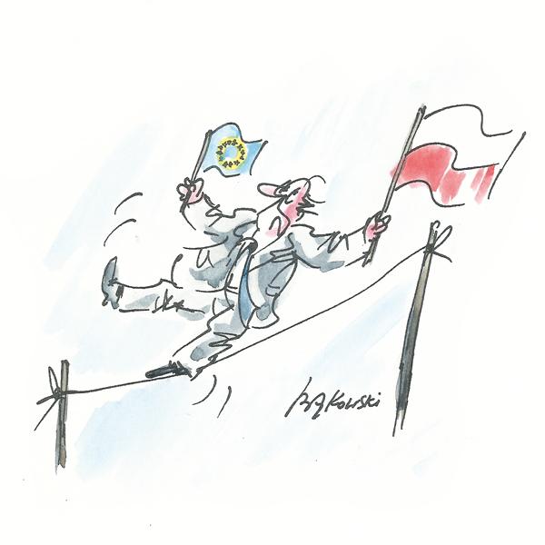 Rysunek G. Bąkowskiego z nr 43/2021
